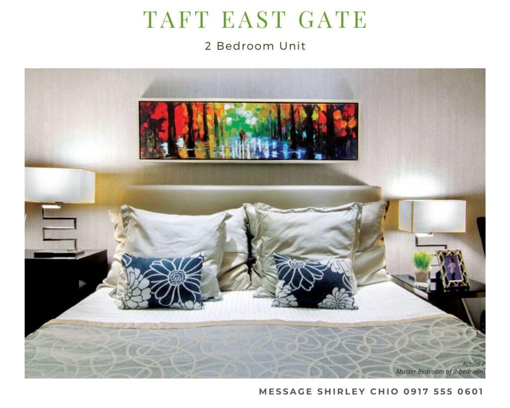 Taft East Gate 2BR condominium for sale