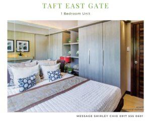 Taft East Gate 1BR condominium for sale in Cebu