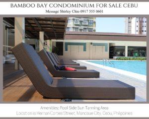 Bamboo Bay Pool Side Sun Tanning Area
