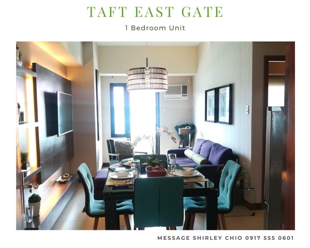 Taft East Gate 1BR condominium for sale Cebu