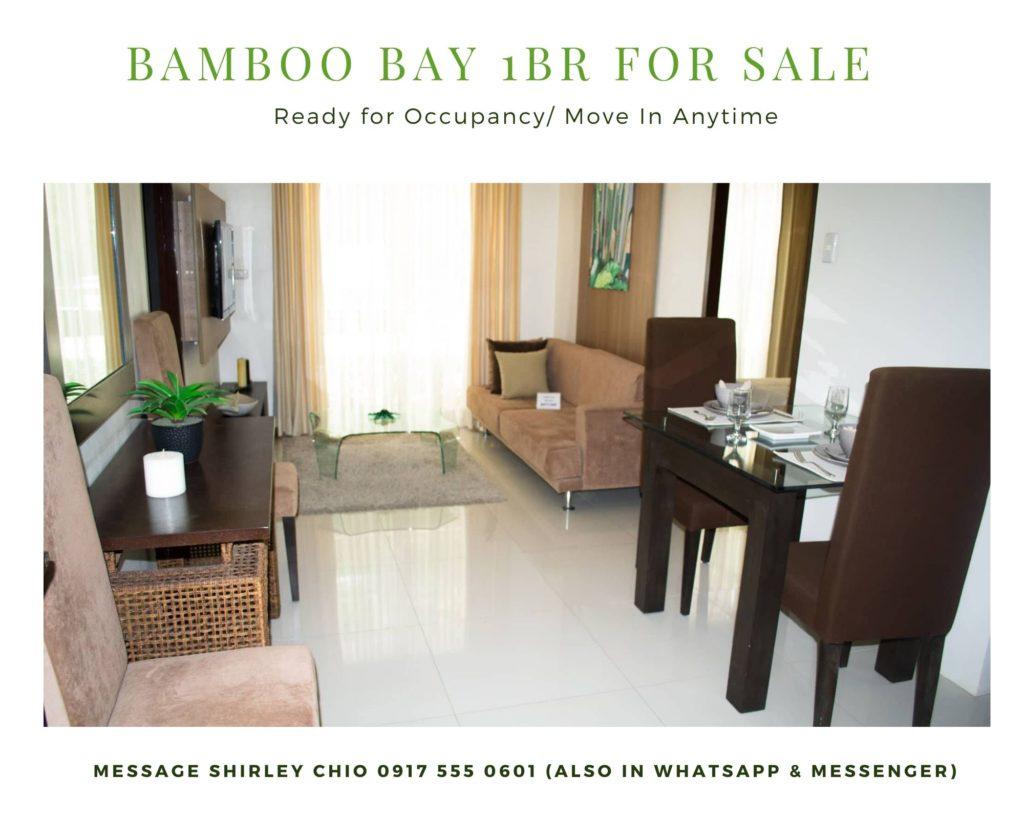 1BR Bamboo Bay Condominium for Sale Cebu