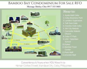 Bamboo Bay Location Map