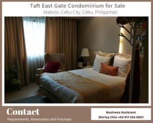 Taft East Gate Condominium for Sale Cebu City Philippines featured image