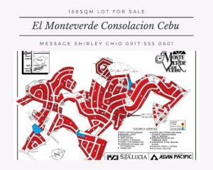 168sqm Lot For Sale El Monteverde Consolacion Cebu