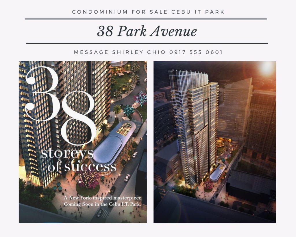 38 Park Avenue Condominium for Sale in Cebu IT Park