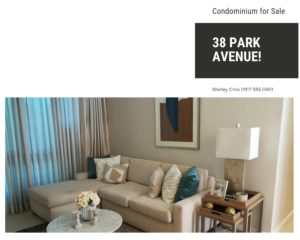 3 Bedroom 38 Park Avenue Condominium for Sale in Cebu IT Park