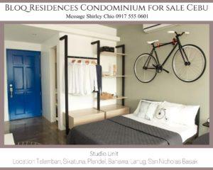 Bloq Residences Condominium for Sale Cebu Studio