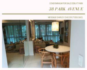 38 Park Avenue Condominium for Sale Cebu IT Park