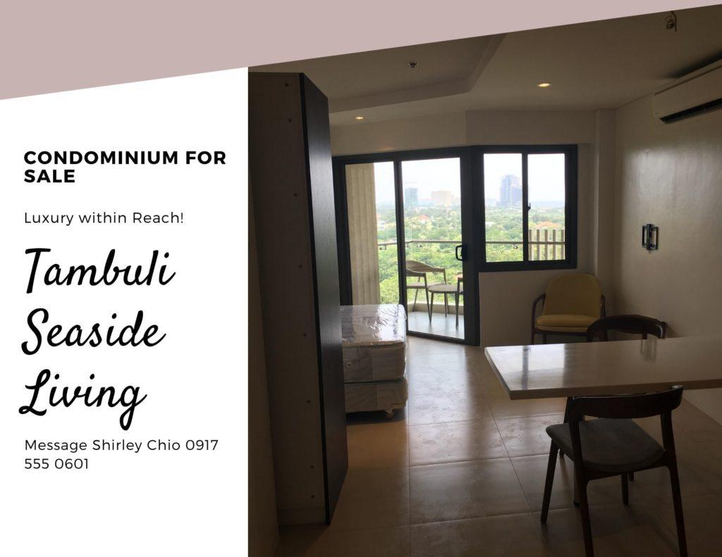 Tambuli Seaside Living Condominium for Sale Mactan Cebu Philippines