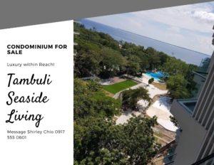 Tambuli Seaside Living Condominium for Sale in Mactan Cebu Philippines