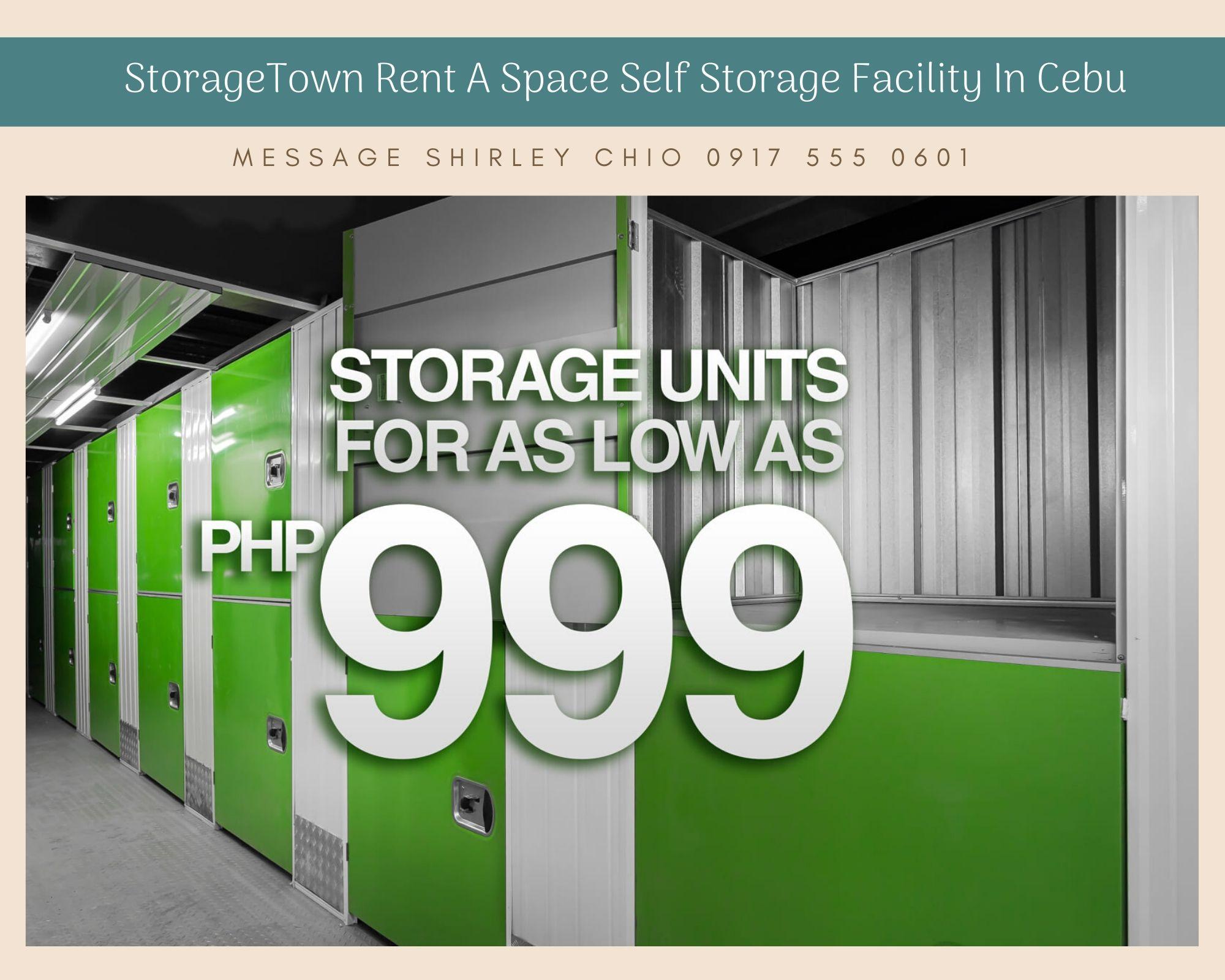 Mini Storage Warehouse StorageTown in Cebu Philippines