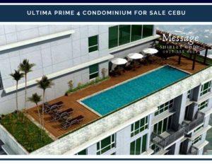 Ultima Prime 4 Condominium for Sale in Fuente Cebu Philippines