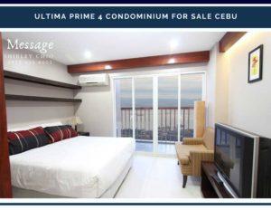 Ultima Prime Tower 4 Condominium for Sale Cebu Fuente Circle