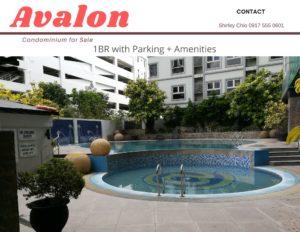 1BR with Parking Avalon Condominium for Sale in Cebu Philippines