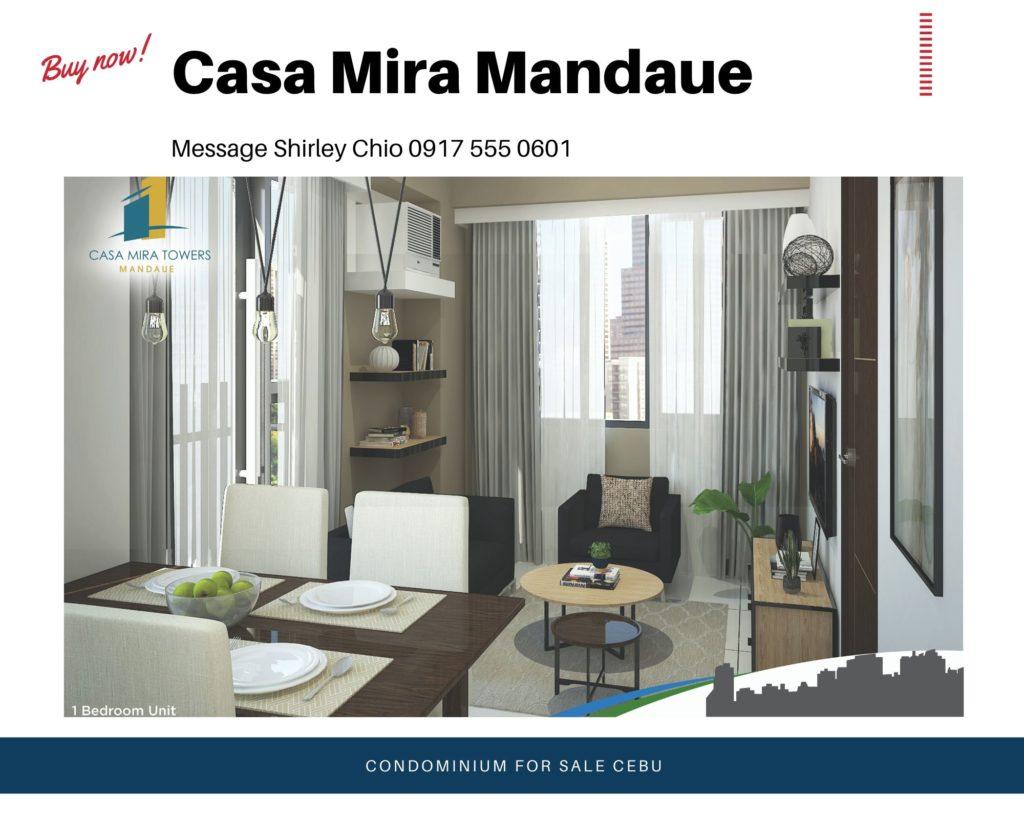 Casa Mira Mandaue Condominium for Sale in Cebu