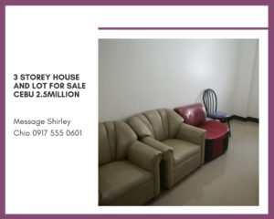 3 Storey House and Lot Single Detached for Sale Cebu Philippines