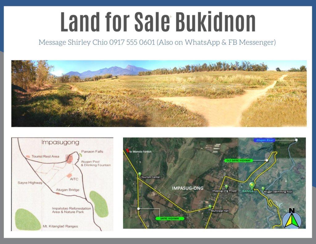 Land for Sale Bukidnon Cagayan de Oro Philippines