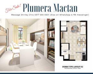 Plumera Mactan Walk Up Condominium for Sale In Cebu Philippines