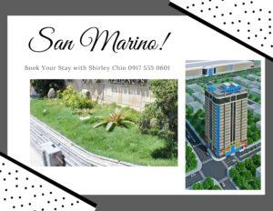 Condominium for Rent in San Marino Residences Cebu Philippines